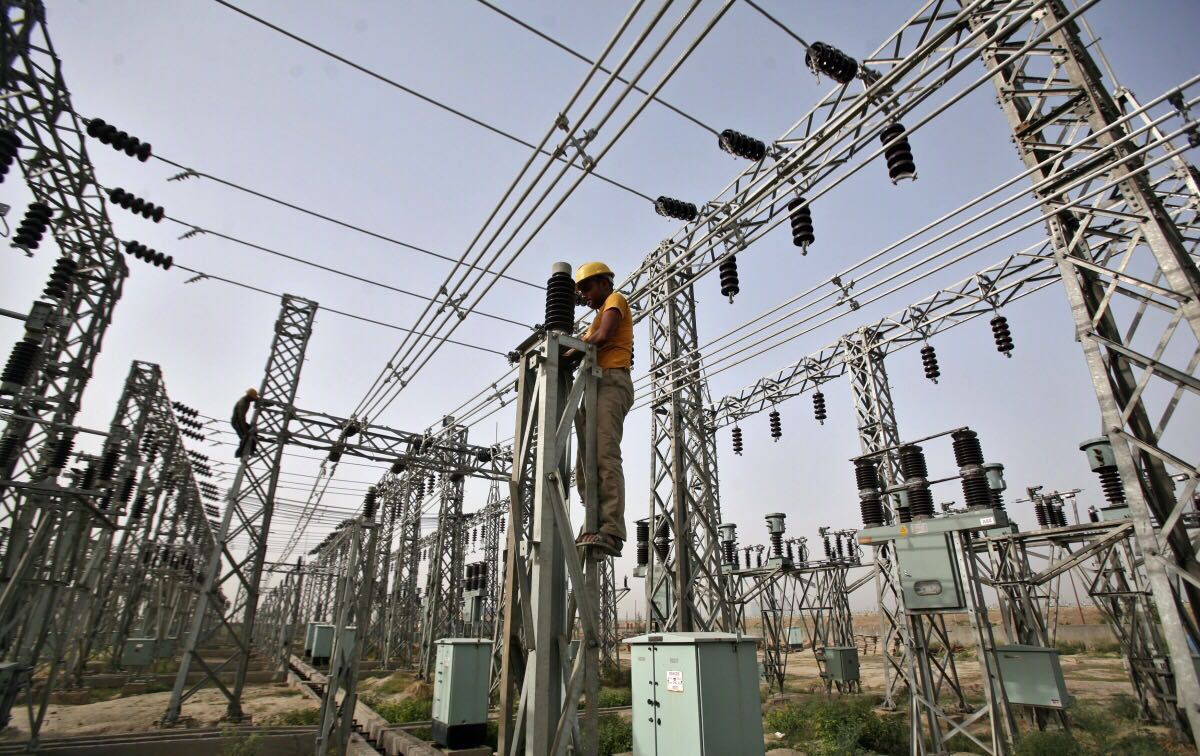 North Power Transmission Installation HV Elec. Towers.